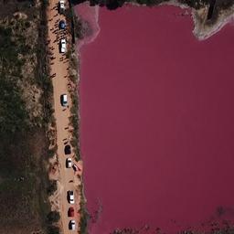 video-|-lagune-in-paraguay-kleurt-roze-door-vervuiling-fabriek